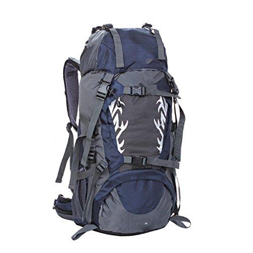 LQABW 2017 Neue Outdoor-Sport Reiten Tasche Wildes Camping Rucksack Professionelles Wasserdichtes Reit Tasche Oxford Tuch Polyester Reduzierte Wanderrucksack .45L Blue
