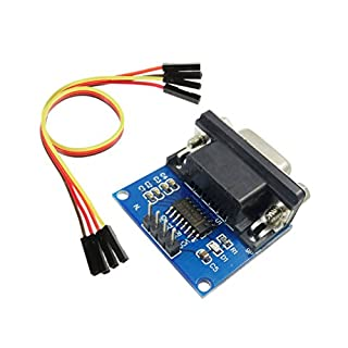 Aihasd MAX3232 RS232 to TTL Serial Port Converter Module DB9 Connector MAX232 with 4P Cable
