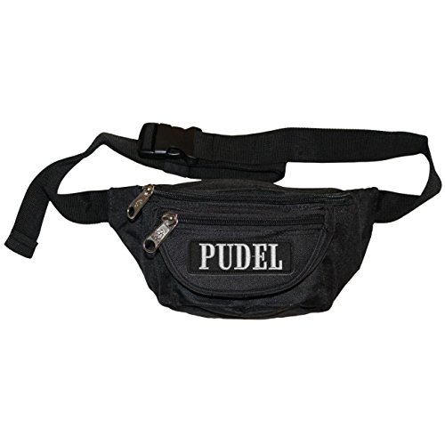 Bauchtasche Pudel mit wechselbaren Patch (Pudel-patch)