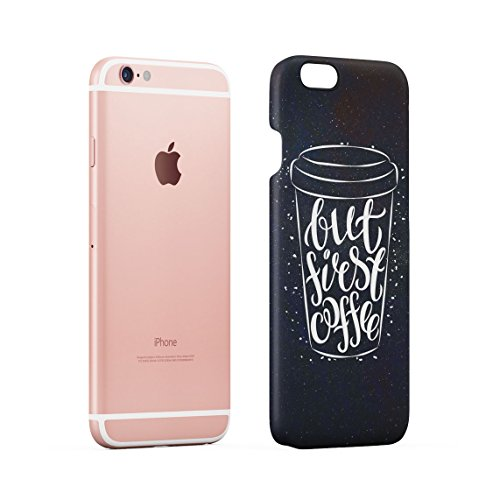 Coffee Is My Drug Dünne Rückschale aus Hartplastik für iPhone 6 Plus & iPhone 6s Plus Handy Hülle Schutzhülle Slim Fit Case cover Coffee Mug
