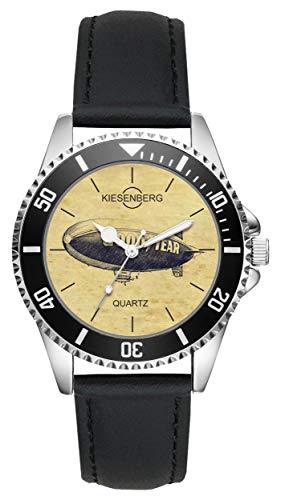 Geschenk für Zeppelin Fan Fahrer Kiesenberg Uhr L-20458