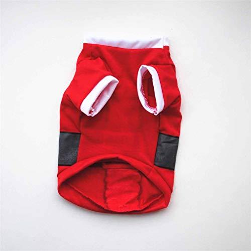 DERNON Weihnachtsnettes Hundet-Shirt-Haustier-Kleidungs-Kleidungs-Westen-Kostüme ClothingXS-Rot (Sehr Niedliche Halloween-kostüme)