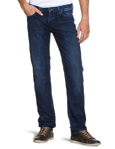 Cross Jeans - F 194-008 / Jack - Jean - Homme Bleu (Brilliant Mid Blue Used))