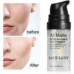 Hilai 1PC Fond De Base Primer Infaillible Primer Base Illuminatrice Fond de teint Primer Mattifying et cellulaire Makeup Primer Base de Maquillage par Lunar Glow