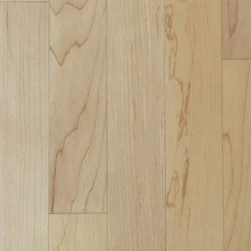 PVC-Boden Holzdielenoptik Eiche mit Vliesrücken  Vinylboden 2m Breite & 0,5m Länge   Fußbodenheizung geeignet   PVC Platten strapazierfähig & pflegeleicht   robuster, rutschhemmender Fußboden-Belag -