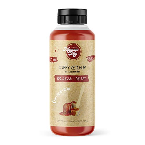 Curry Ketchup | Low Carb Ketchup Soße | Curry Ketchup von Mamma Mia 265ml