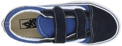 Vans OLD SKOOL V Unisex-Kinder Sneakers Blau