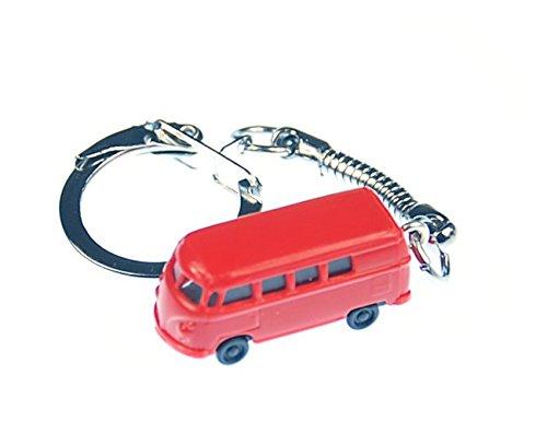 Miniblings Bus Schlüsselanhänger England Auto Fahrzeug Rot