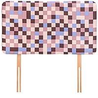 Ready Steady Bed schaumstoffgepolstertes Kopfteil für ein Kinder-Einzelbett (90 cm), Design: braune Pixel preisvergleich bei kinderzimmerdekopreise.eu