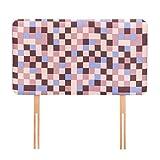 Ready Steady Bed® Braun Pixel Design Kinder Kopfteil für Einzelbett 3Ft Bett...