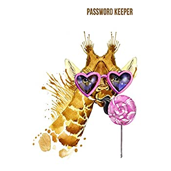 Password Keeper: Never Lose A Password Again! Password Logbook To Store And Organize Important Information - With Alphabetical Index (5X8) (V4)