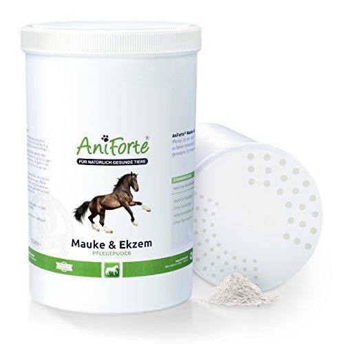 AniForte Mauke & Ekzem Pflegepuder 1 Liter Stäubeflasche – Naturprodukt für Pferde