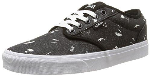 Vans M Atwood, Herren Sneakers Schwarz (beach/black/mystic blue)