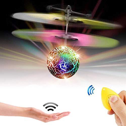 Fliegende Kugel, CYMY Fliegen Hubschrauber Spielzeug Weihnachtsgeschenke für Jungen Mädchen 3-15 Jahre alt Geburtstagsgeschenk