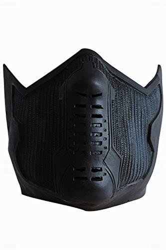 Für Erwachsene Soldier Kostüm Winter - MingoTor Halloween Soldat Maske Cosplay Helm Props Requisiten Schwarz