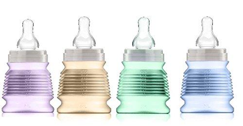 4-biberons-rvolutionnaires-nomades-hyginiques-330-ml-rose-mint-parme-mandarine-3-ttines-dbit-rapide-