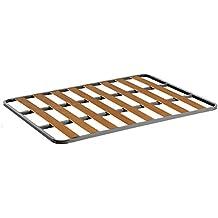 Somier de acero con láminas de chopo. Fabricación Nacional. 90x190cm-SIN PATAS