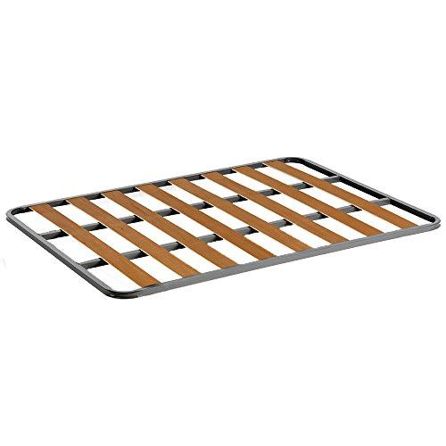 Somier de acero con láminas de chopo. Fabricación Nacional. 90x200cm-SIN PATAS