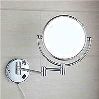 Bagno trucco parete Specchio, Specchio da toilette pieghevole, bagno telescopica