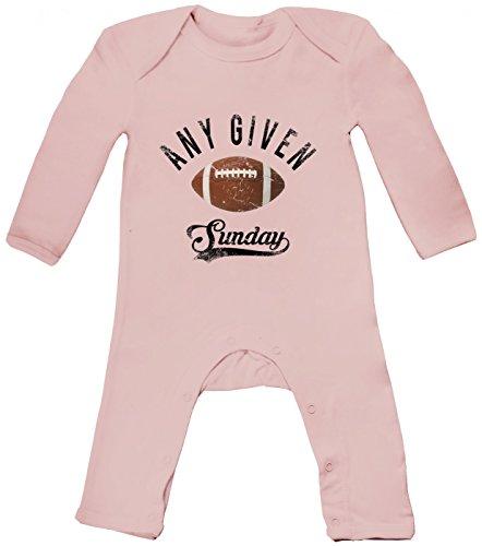 ven Sunday   An jedem verdammten Sonntag   American Football Babybody   Super Bowl   NFL, Farbe:Babyrosa (Powder Pink BZ13);Größe:3-6 Monate ()