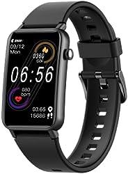 NAIXUES Smartwatch, IP68 Orologio Fitness Uomo Donna da 1.57 Pollici Cardiofrequenzimetro SpO2, Smart Watch Bl