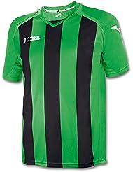 Joma - Camiseta pisa 12 verde-negro m/c para hombre