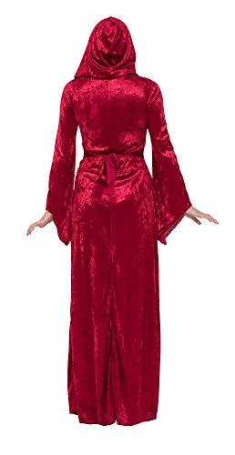 Mittelalterliche Prinzessin, Zauberin, Vampir Gothic, Burgfräulein Damen Kostüm Gr. M/L - 4