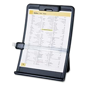 Sparco Products SPR38951 Chevalet titulaires de documents r-glable-10in.x2-.50in.x14-.38in - noir.