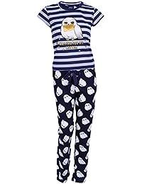 Harry Potter Pijama Azul Marino Búho Nocturno