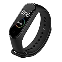 Xiaomi Mi Band 4 Smart Miband 4 0.95 Inch AMOLED Screen Waterproof Heart Rate Fitness 135mAh Bluetooth 5.0 Colored Screen (International Version) - Black