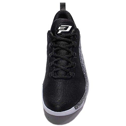 Nike Youth Jordan CP3.X Woven Textile Trainers Noir Blanc