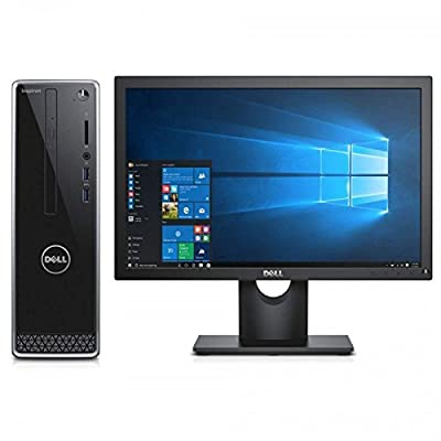 Dell Inspiron 3250 Y263502HIN8 18.5-inch All-in-One Desktop (Core i5-6400/4GB/1TB/Windows 10/2GB Graphics), Black