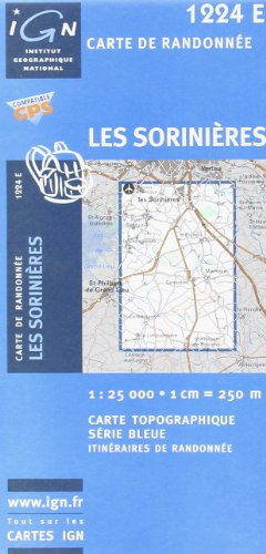Les Sorinieres: IGN1224E (Ign Map) par From Institut Geographique National