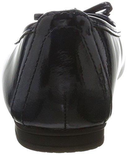 Softline22163 - Ballerine Donna Blu (Navy Patent)