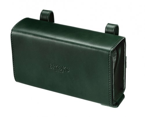 Brooks D-Shaped Tool Bag Sattel Tasche, D-Shaped Tool Bag Grün