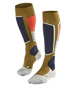 FALKE Damen dünner Skistrumpf Merinowolle Falke SK4 Wool W/'s Skisocken *NEU*