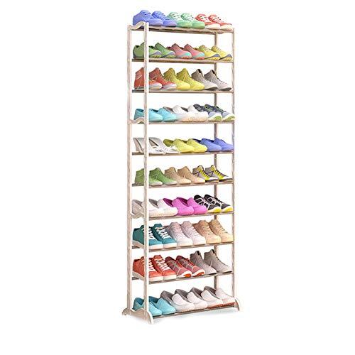 Multi-couche de chaussure rack de stockage à la maison de rangement de l'armoire de chaussure étagère de chaussure de rangement blanc simple