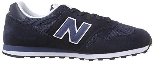 Herren Azzurro wl373v1 Balance Scuro Sneaker blu Blau New Ml F85qHwgA