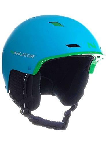 Navigator tukan - casco da sci/snowboard, regolabile, div. colori, xs-xl (blu, m-xl (58-62cm))