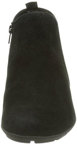 Gabor Trudy, Bottes Classiques Femme Noir (black Suede Micro)