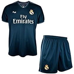 Real Madrid FC Kit Infantil Replica Segunda Equipación 2018/2019 (10 Años)