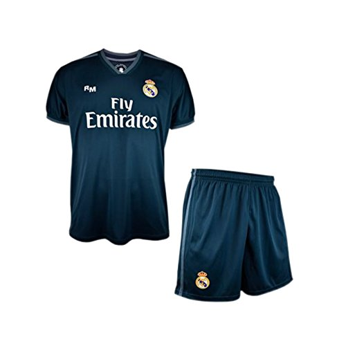 REAL MADRID C.F. Real Madrid 2018-19 Uniforme Junior replica ufficiale  secondo  AB9181  ee084f180c7a4