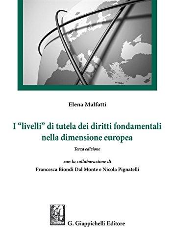 I «livelli» di tutela dei diritti fondamentali nella dimensione europea