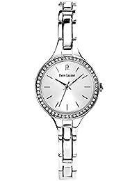 Pierre Lannier - 070G621 - Montre Femme - Quartz Analogique - Cadran Argent - Bracelet Métal Argent