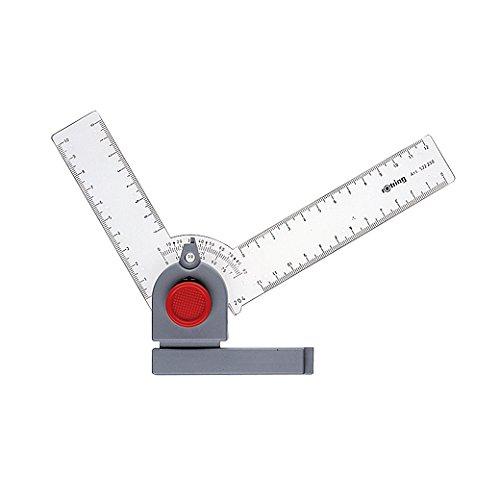 Rotring S0213680 - Constructor de ángulos