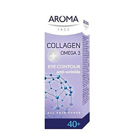 Aroma Visage crème contour des yeux COLLAGENE + OMEGA 3 15ml