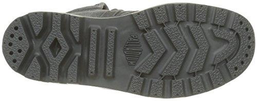 PalladiumUs Baggy W - Scarpe da Ginnastica Basse Donna Gris (B61 Forged Iron/Brush Nickel)