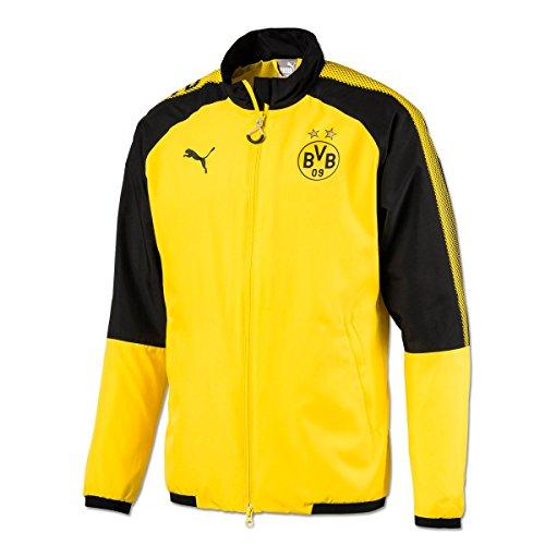 Puma BVB Leisure–Chaqueta de presentación de sin Sponsor 17/18, amarillo/negro