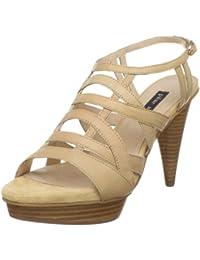Pilar Abril Arabella 08768 - Sandalias de vestir de cuero para mujer