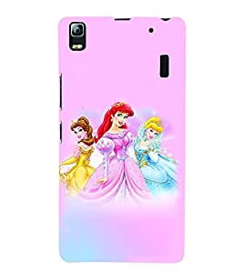 GADGET LOOKS PRINTED BACK COVER FOR LENOVO K3 NOTE MULTICOLOR